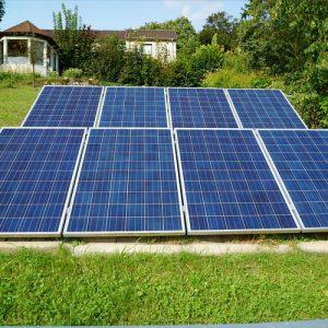 Panneaux solaires jardin